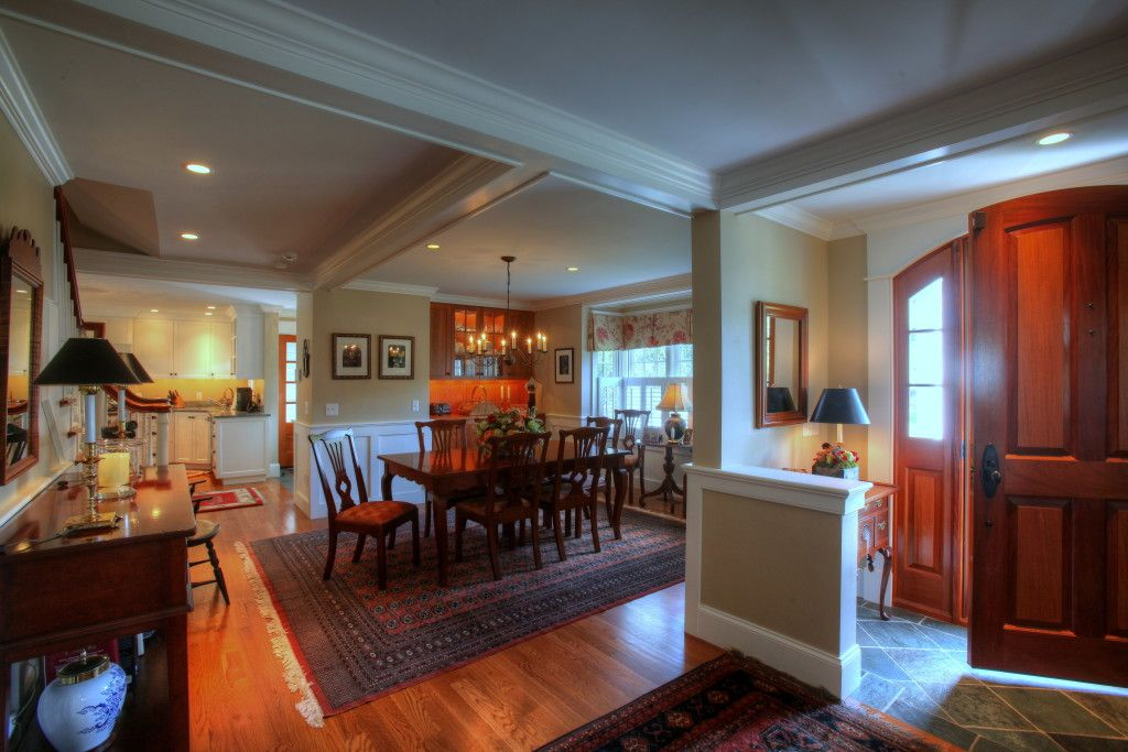 Open Concept Floor Plan In A Cozy Cape Cod Cottage Originally Envisioned As A Renovation Further Co Cozy Cottage Building A New Home Open Concept Floor Plans