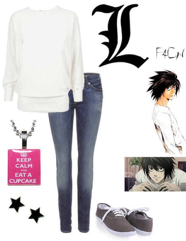 Ryuzaki/L (same person) from death note inspired fashion ...