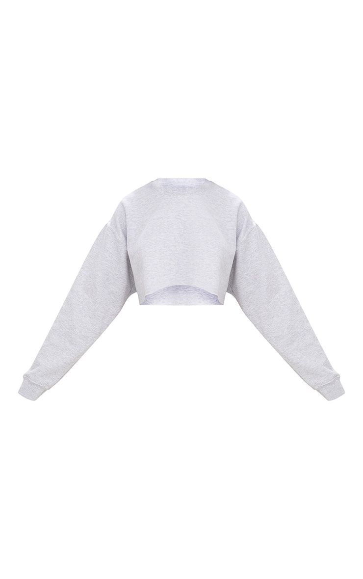 Grey Ultimate Cropped Sweater