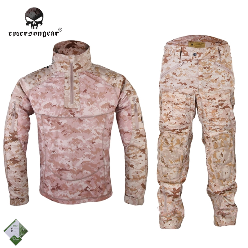 121.30$  Buy now - http://alip78.worldwells.pw/go.php?t=32215457952 - Emersongear All-Weather Tactical Uniform Suit Anti-riot Set Camouflage Airsoft Uniform Combat Shirt & Pants EM6894R1 AOR1