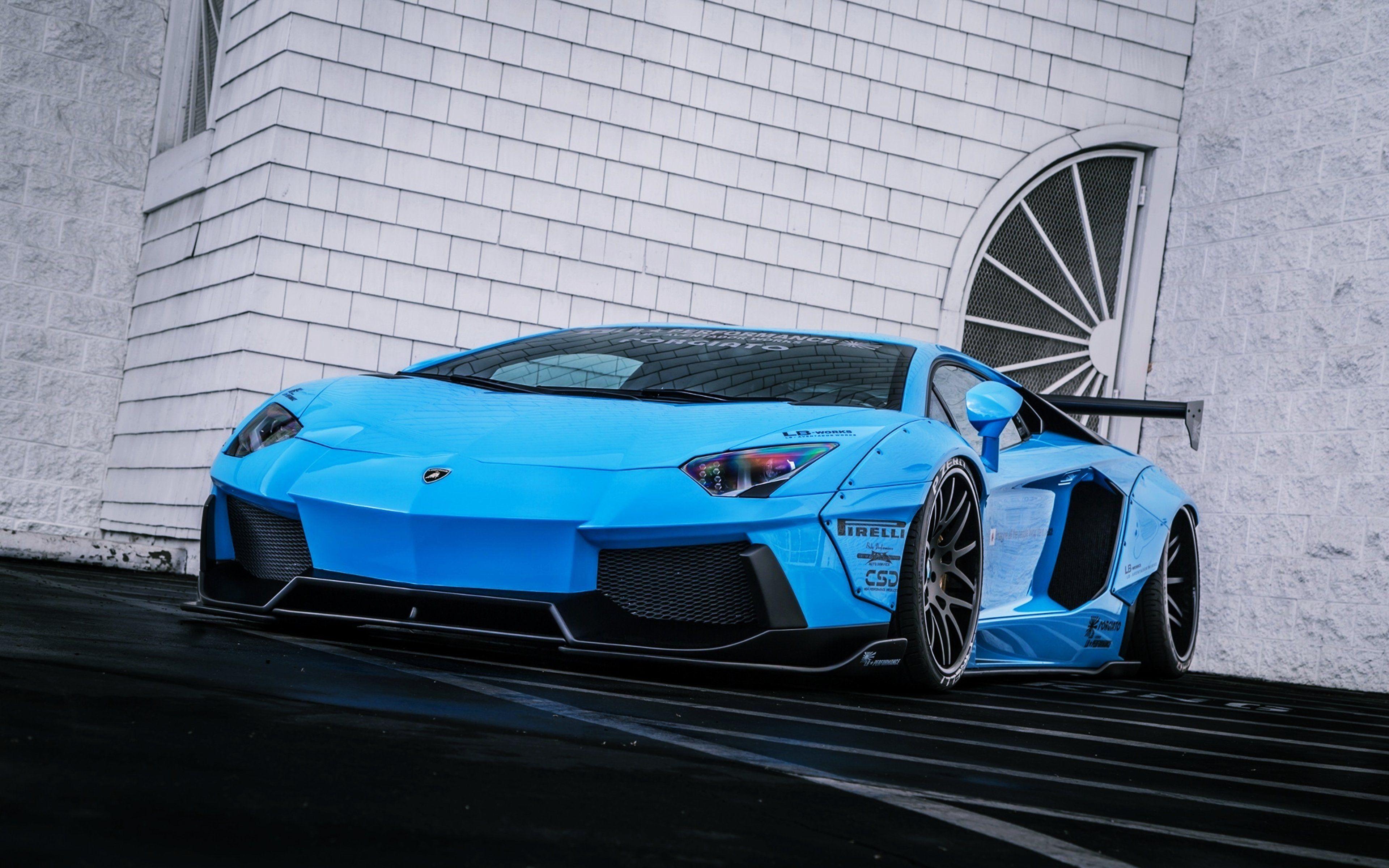 lamborghini aventador lb lamborghini aventador lp720 4 liberty lb perfomance blue supercar rear