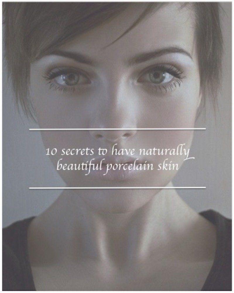 Beautiful skin secrets celebrity