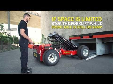 Palfinger Service Truck Mounted Forklift Bm Operator Video English Deutsche Untertitel Youtube Trucks Forklift Work Trailer