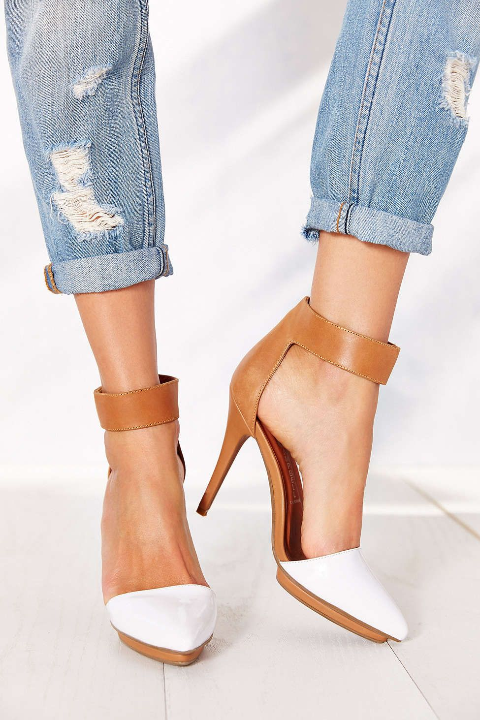 Jeffrey Campbell Solitaire Pointy-Toed Heel