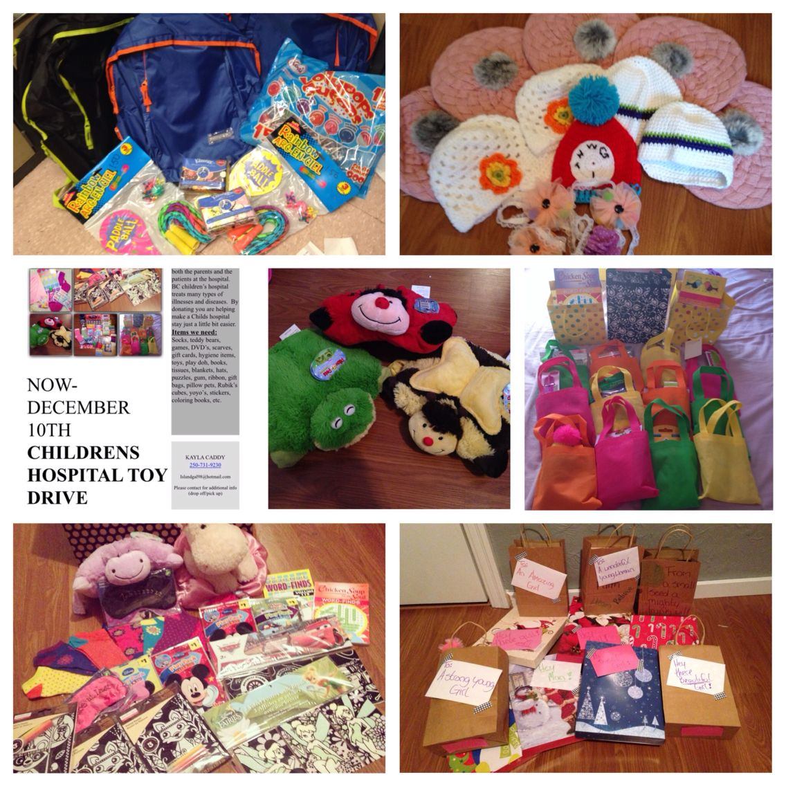 Donations for children\'s hospital this christmas | Kreations for ...