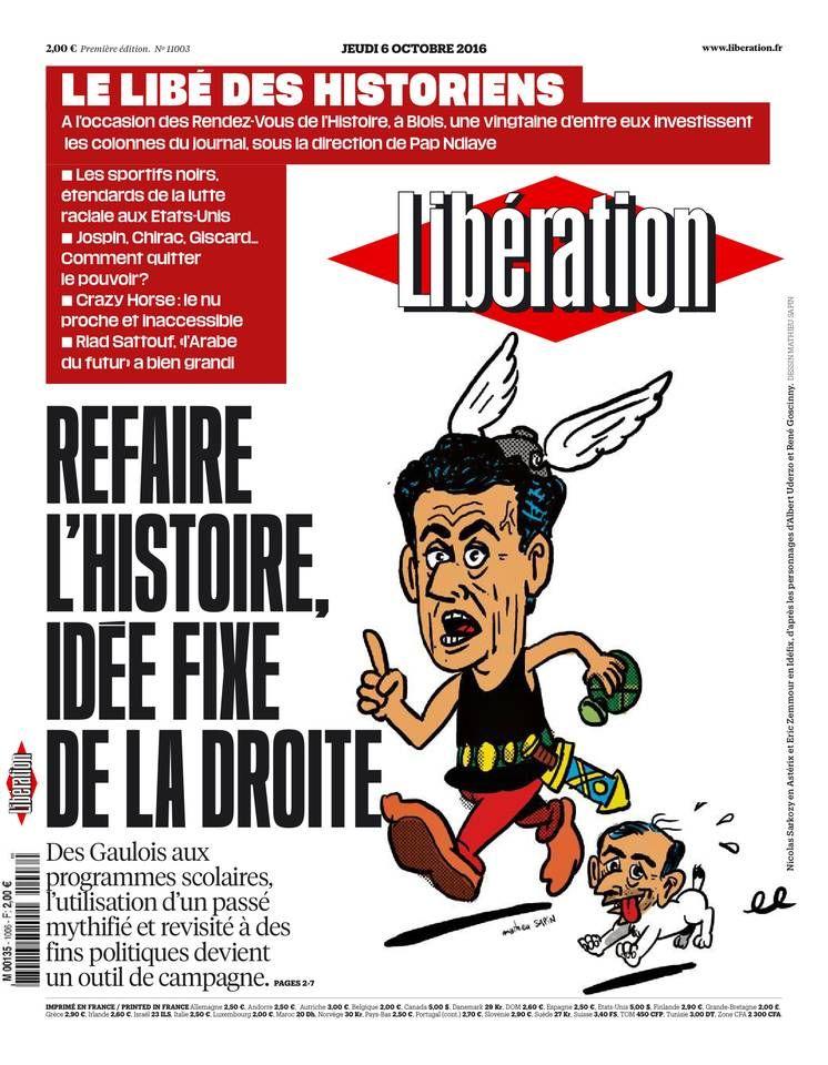 Libération - Jeudi 6 Octobre 2016 - N° 11003