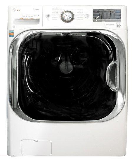 For A Really Big Mess The Lg Wm8000hva Will Do The Trick Washing Machine Washing Machine Reviews Washing