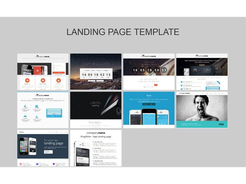 Landing Page Pack Free Responsive Bootstrap Template Bootstrap Template Landing Page Templates