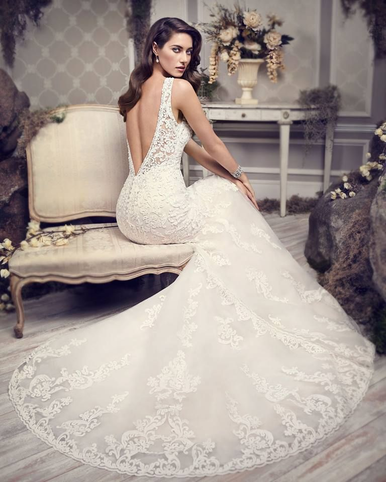 Style 1592 Spring 2015 Bridal Collection By Kenneth Winston Catalogue Pic