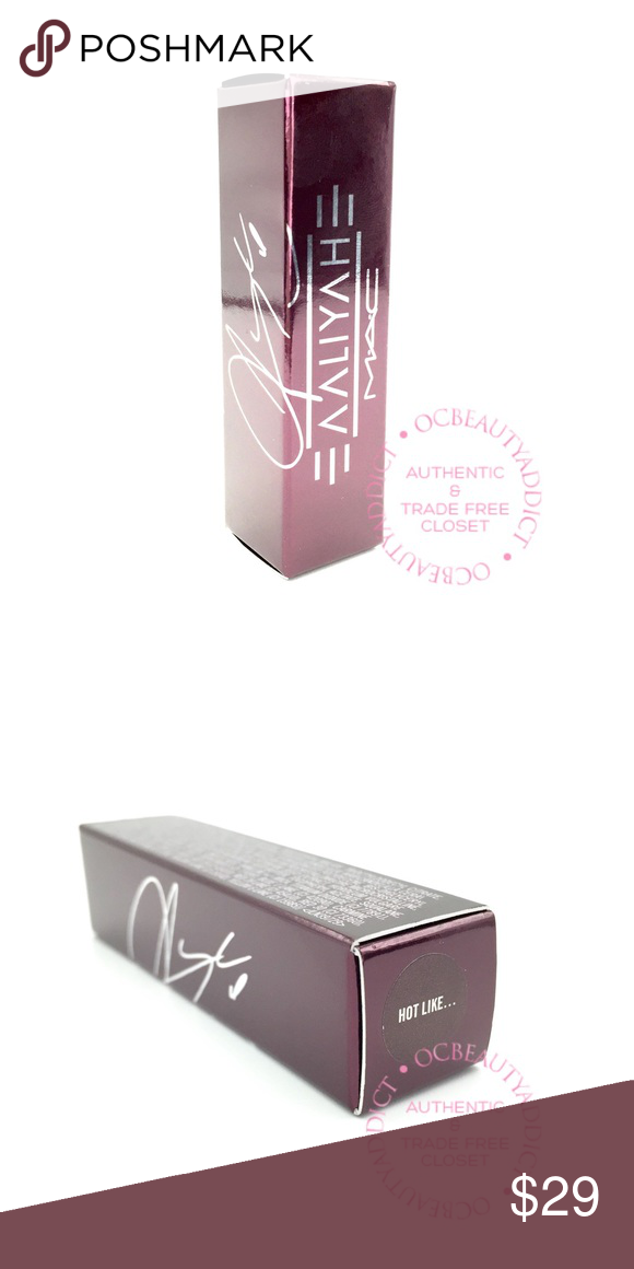 MAC Aaliyah Amplified Creme Lipstick - Hot Like