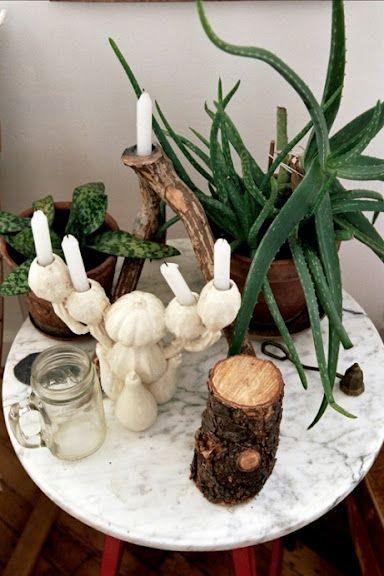 mushroom candles and its jar.