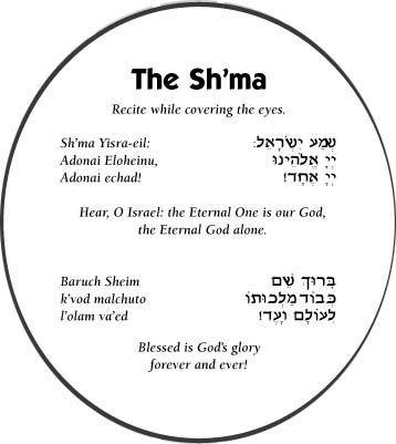 `Escucha Israel Yahweh nuestro Elohim Yahweh uno es.