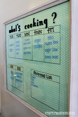 Family meal planner! This would make my life so much easier. Wouldn't it be nice…