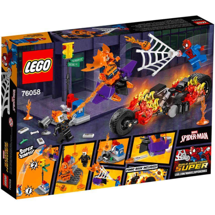 LEGO Super Heroes Spider-Man Marvel : Ghost Rider Team-Up Movie ...