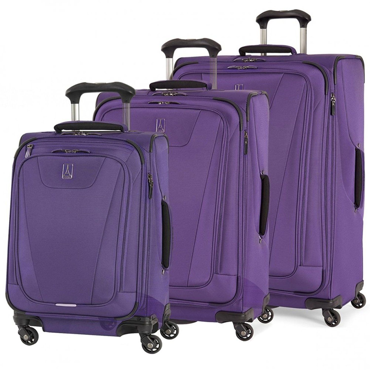 57146a467fda Travelpro Maxlite 4 3-Piece Expandable Spinner Set: 21 , 25 , and 29 ...