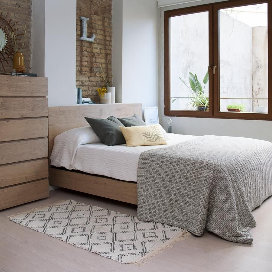 Nude aro de cama so ar despierto cabecero y estilo n rdico - Cama estilo nordico ...