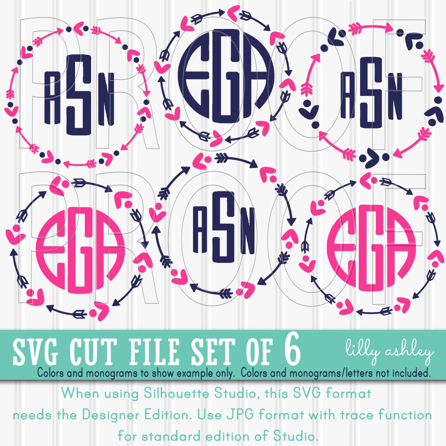 Free SVG File Set Svg files for cricut, Free monogram