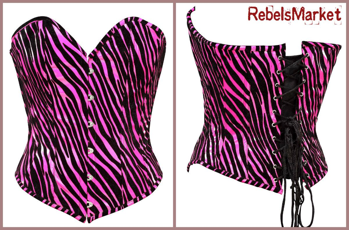 For the love of animal prints, this beautiful corset with tiger prints will be sure to make you look sexy!