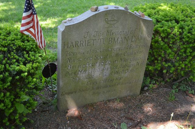 Road Trip American History Garden Rooms And Sprinkles In The Nearby Town Of Auburn Ny We Visited The Grave Of Ha Road Trip American History Harriet Tubman
