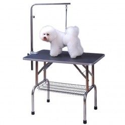 Homcom Foldable Pet Dog Grooming Table Adjustable Arm Non Slip Surface Peluqueria De Perros Peluqueria Perros Perros