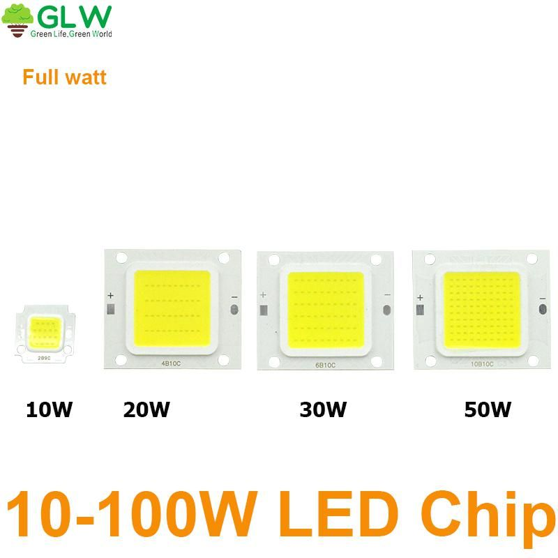 Led Cob Chip Light 10w 20w 30w 50w 100w Led Lamp Led Driver Transformer Voltage Regula High Flux Suitable For Flood Light Diy Led Led Drivers Led Lamp