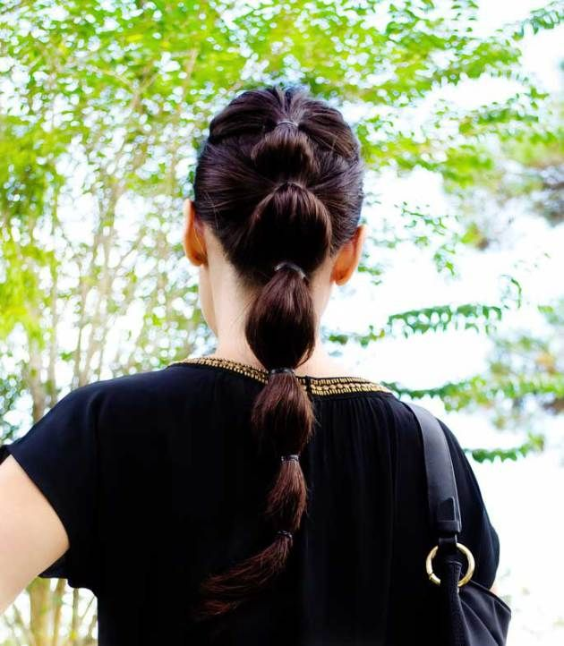 Bubble Ponytail The Classifed Chic