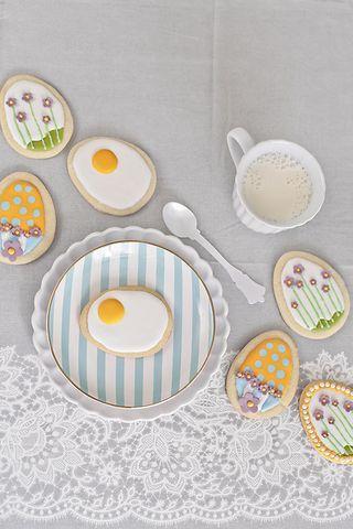 Cómo hacer galletas decoradas en forma de huevo para Pascua | María Lunarillos | Tartas provocativas: Inspiración | Bloglovin'