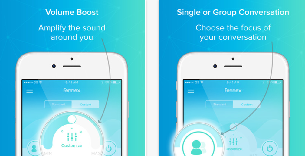 Fennex – Augmented Hearing App is a free iPhone App That