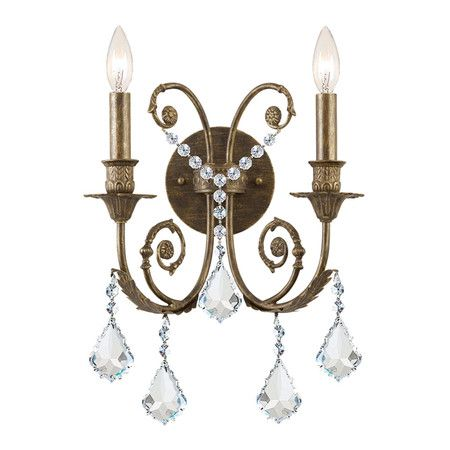 I Pinned This Royale Crystal Wall Sconce From The Gold Coast