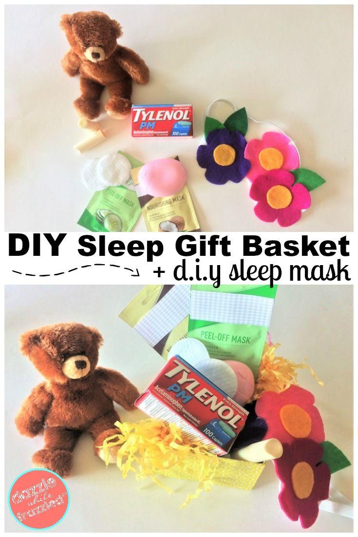 Sleep Gift Basket Diy Easy Felt Sleep Mask Diy Crafts And Home