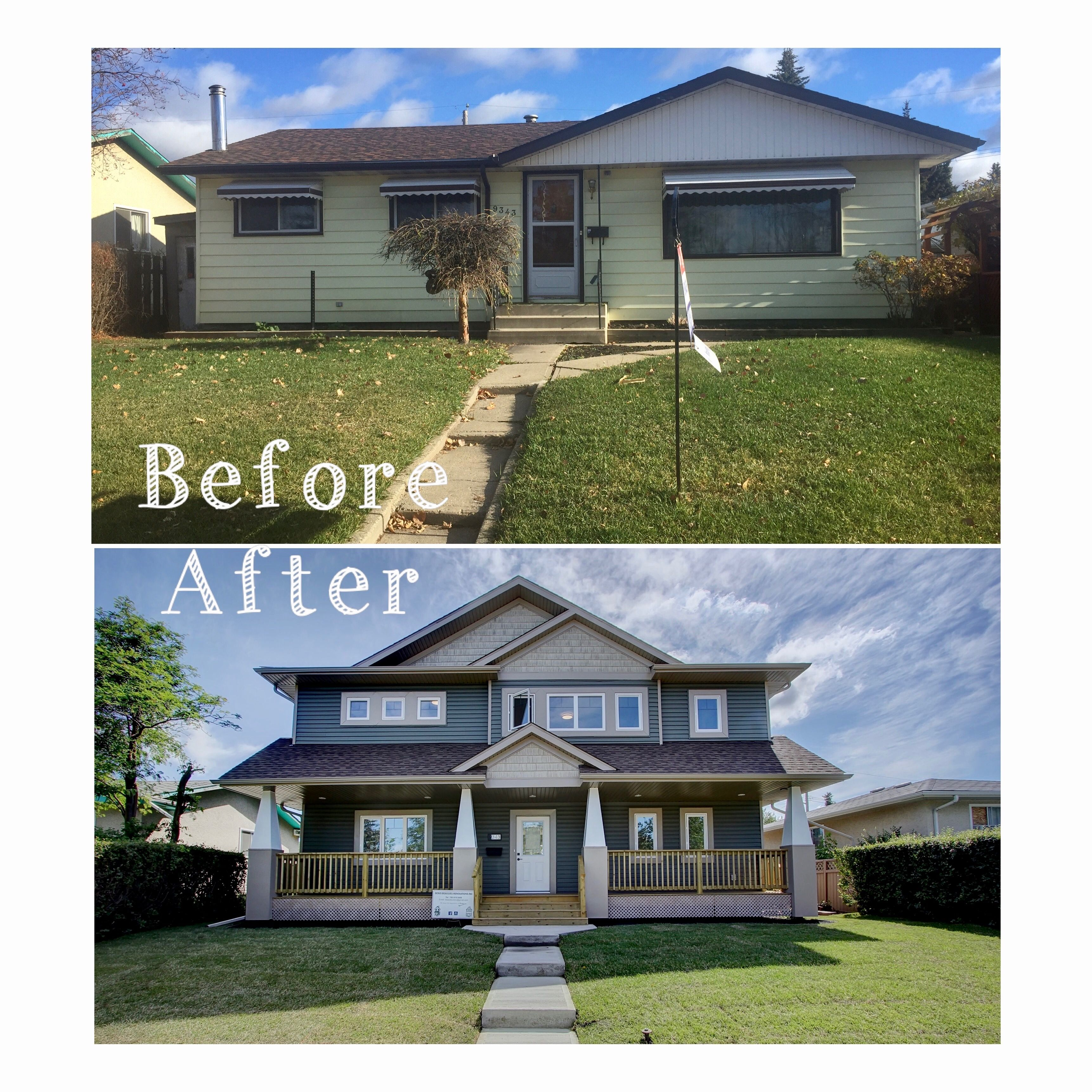 Two Story Addition Ideas: Second Floor Addition. Before And After. Renovation
