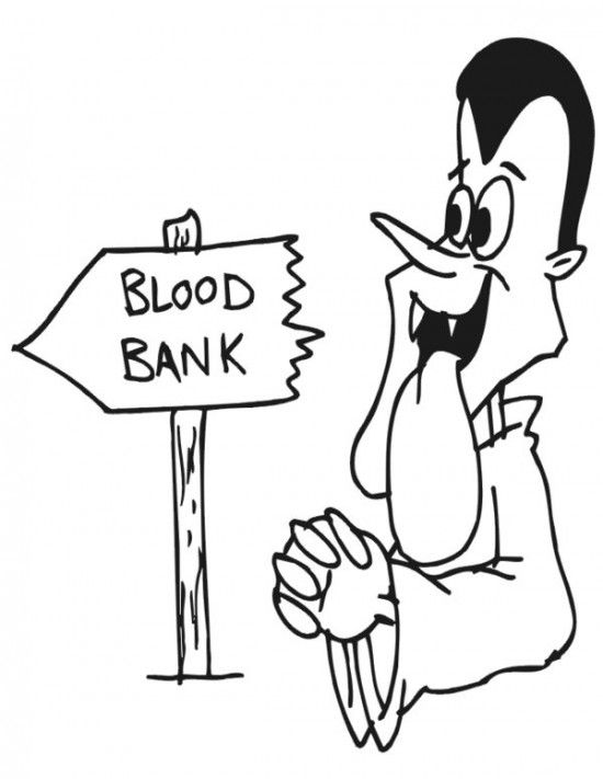 Vampire Blood Coloring Pages Laboratory Coloring Book