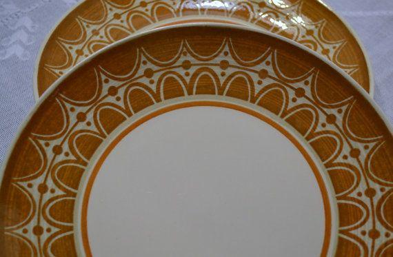 Vintage Cavalier Ironstone Royal China Dinner Plate Set of 2