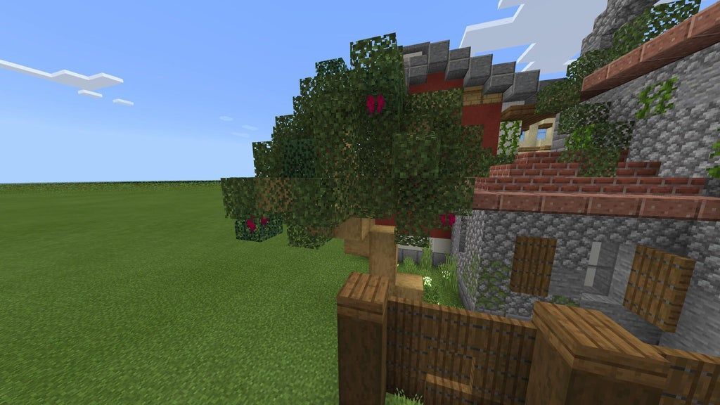 Add Weeping Vines To A Tree To Make It Look Like Some Fruit Is Growing On The Tree Detailcraft Vines How To Make Tree