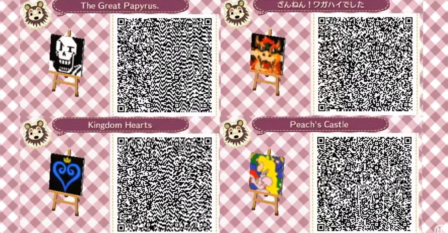 Pin on AR animal crossing codes