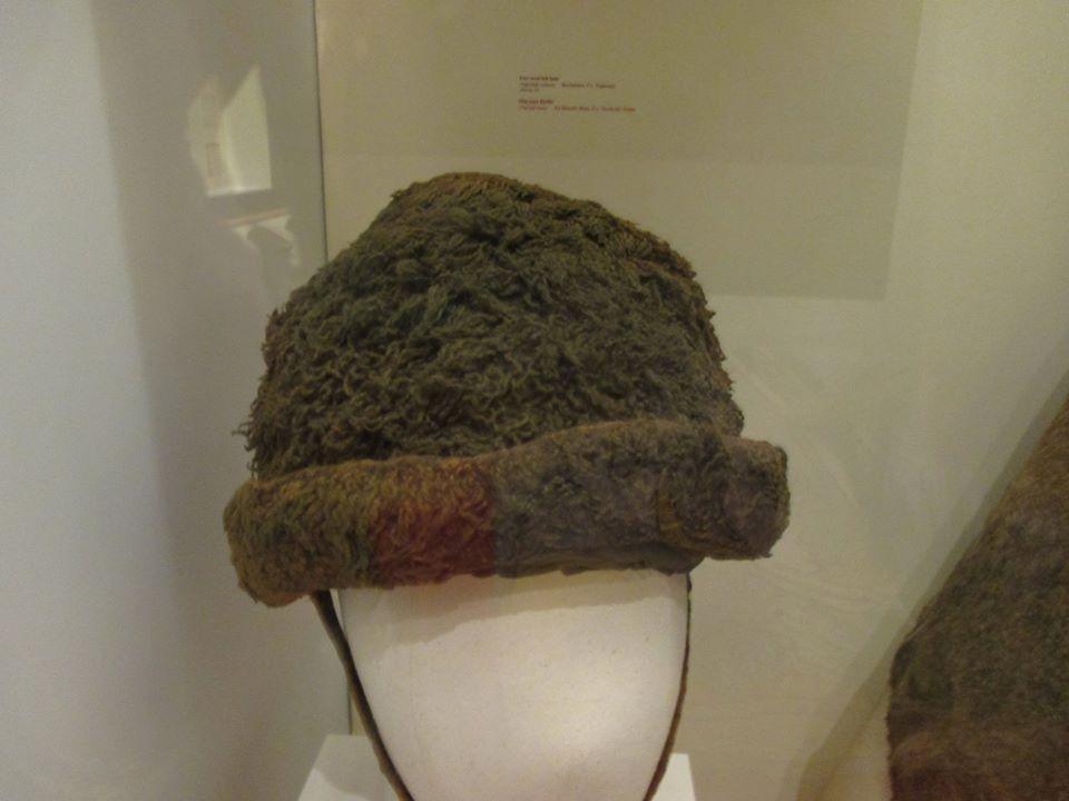 9be62121669 Irish wool hat found in a bog