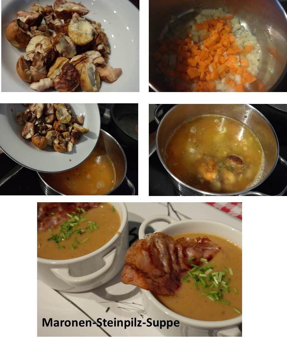 #glutenfrei #eifrei #ohne #allergenfrei  Mit meinem Lieblingsgerät – dem Stabmixer – gelingt die Suppe im Nu. Die getrocknetne #Steinpilze verleihen der #Maronen-#Suppe den gewissen Touch! Mit wenig Aufwand, einfach lecker kochen! Eure Liebsten werden begeistert sein.