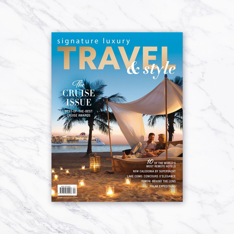 Book Layoutdesign Ideas: Signature Luxury Travel & Style Magazine, Volume 30