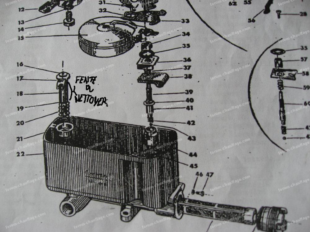 Schema carburateur toby annexe huile mazout pinterest po le et flamme - Poele a fuel ...