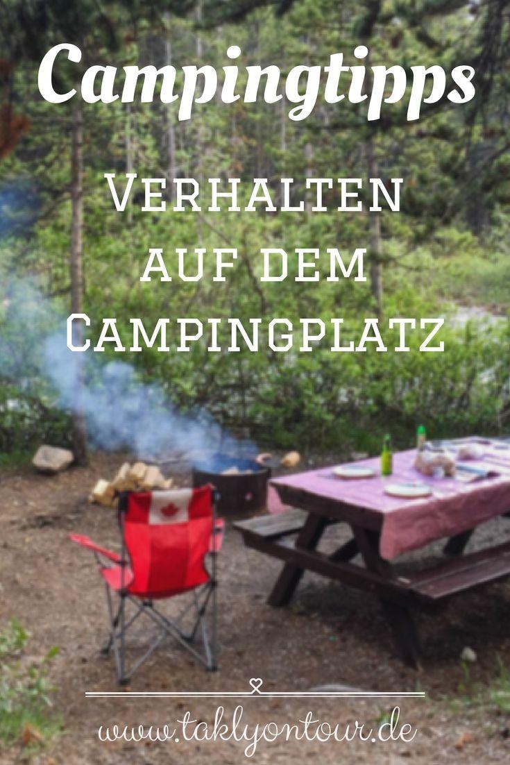 verhalten auf dem campingplatz camping f r anf nger. Black Bedroom Furniture Sets. Home Design Ideas