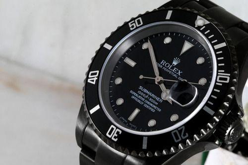 Black Rolex.