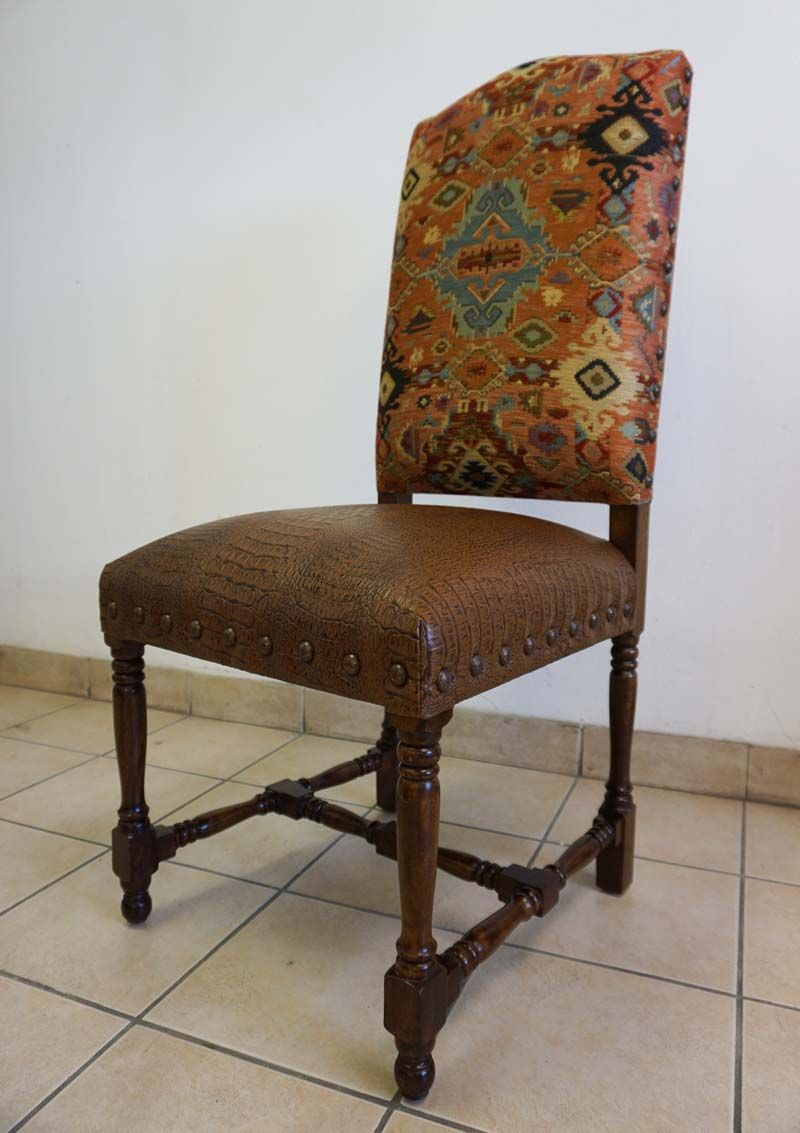Adobe Western Dining Chair Chairs