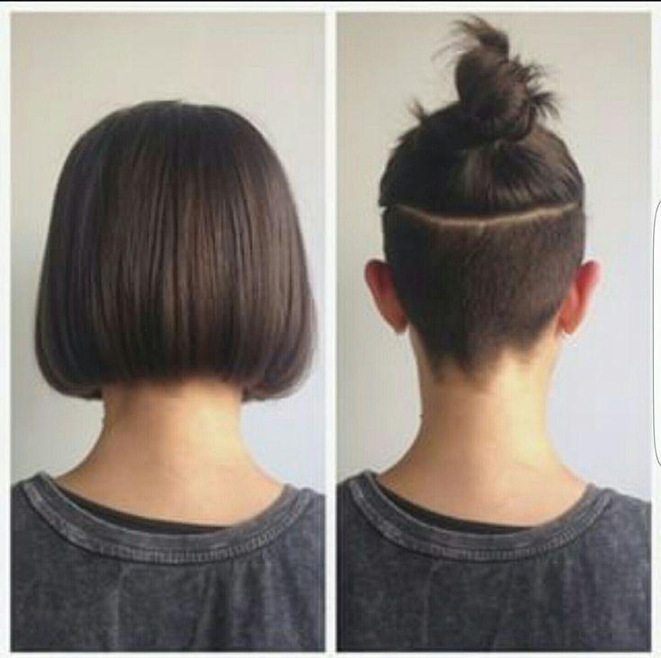 Hairdare Style Women Pixie Cuts Pinterest Fresh Undercut Long Hair – kimgowerf... - Pixie Cut Hairstyle