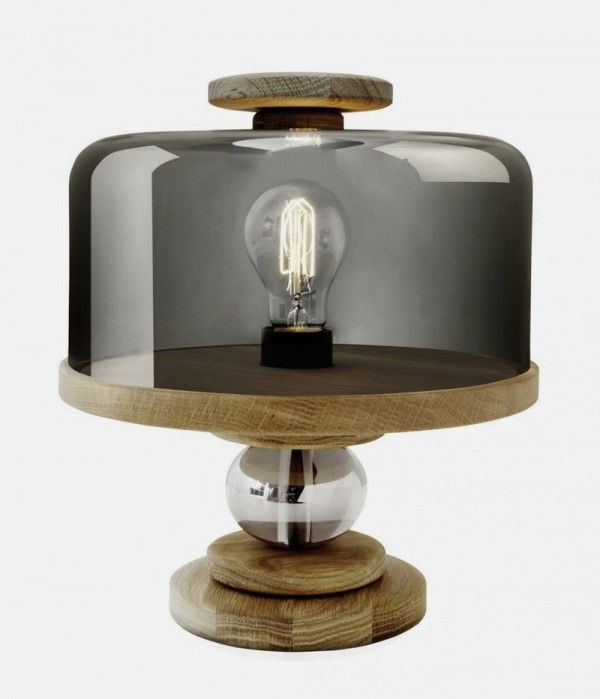 Unqiue Table Lamp That Shaped Like Covered Cake Stand Bake Me A Cake Lamp Nice Ideas