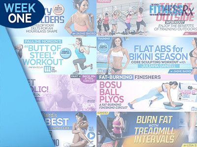 FitnessRx Week of Workouts 1 Get Results With A Training Switch Up