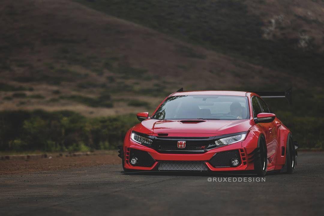 Rocket Bunny Type R Ruxeddesign Typer Stancenation Widebody Si K2motor Specdtuning Spec Honda Civic Type R Honda Civic New Honda Civic Hatchback