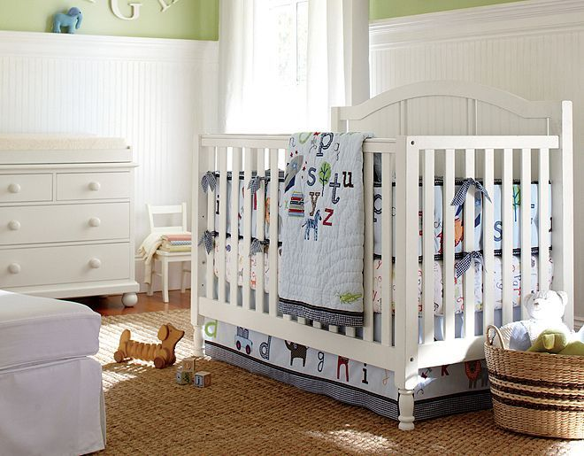 Pottery Barn Kids Abc Nursery Looking For A Large Changing Table System Shelving On Either