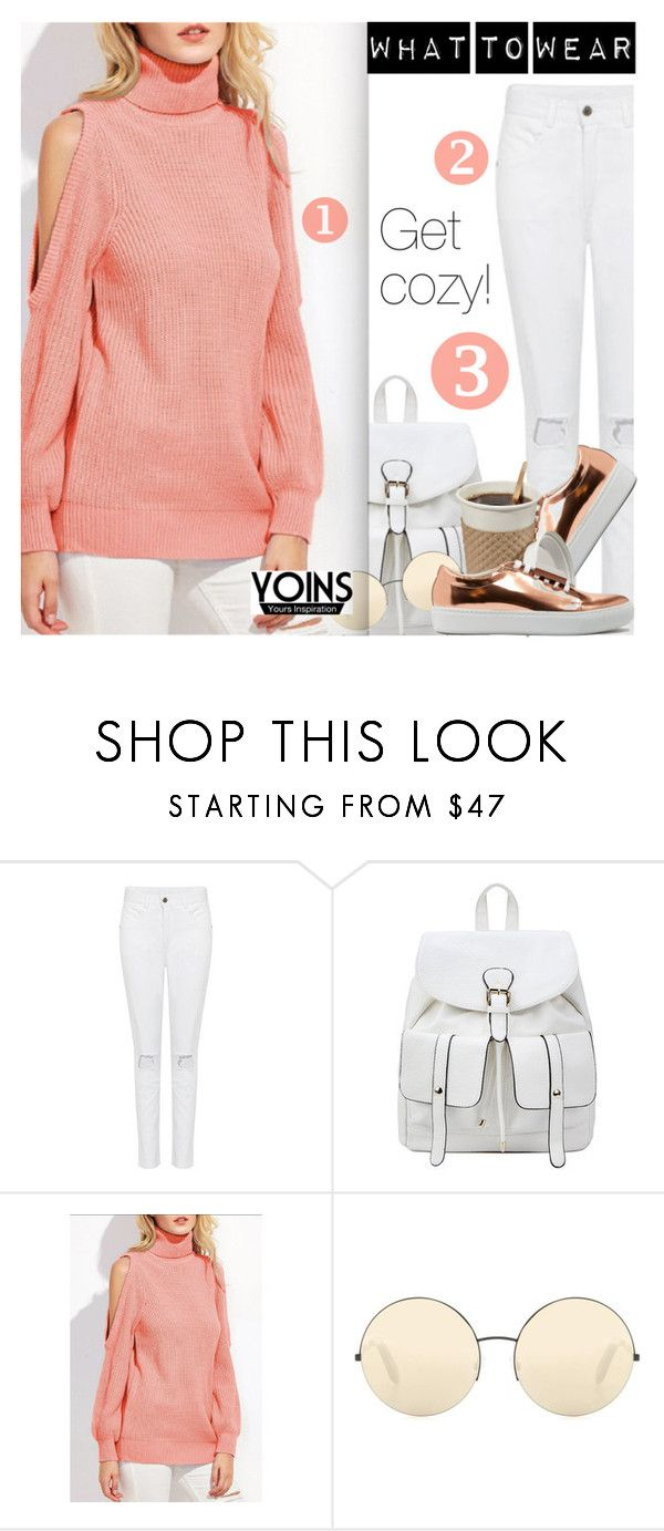 """Yoins"" by dressedbyrose ❤ liked on Polyvore featuring Victoria Beckham, Acne Studios, yoins, yoinscollection and loveyoins"