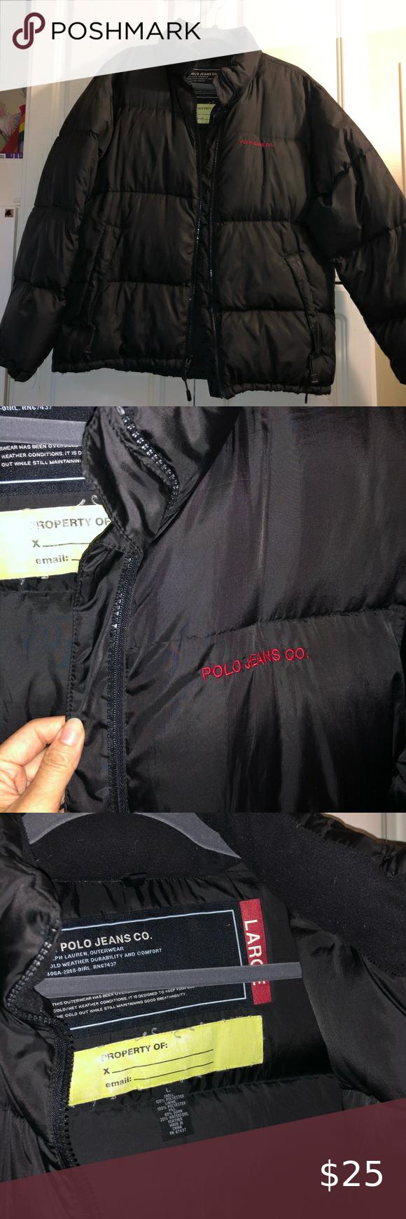 Ralph Lauren Polo Jean Co Black Jacket Polo Jeans Polo Ralph Lauren Black Jacket [ 1740 x 580 Pixel ]