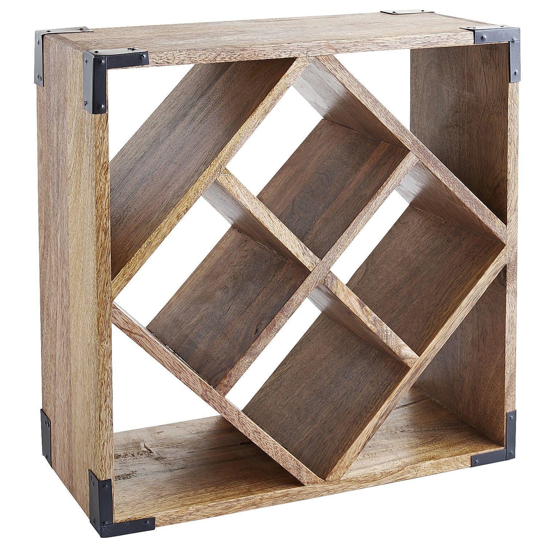 Napa Cube Wine Rack Natural Botelleros Para Tu Espacio Vino  # Muebles Botelleros
